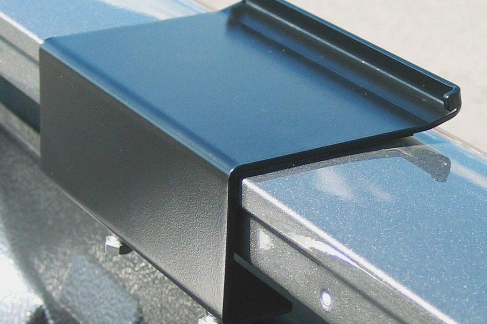 cs fs hd open bed rail bracket system pick up - Tent Topper Bracket Systems