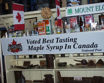 Best Syrup in Canada