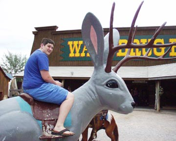 Jackalope at Wall Drug, SD