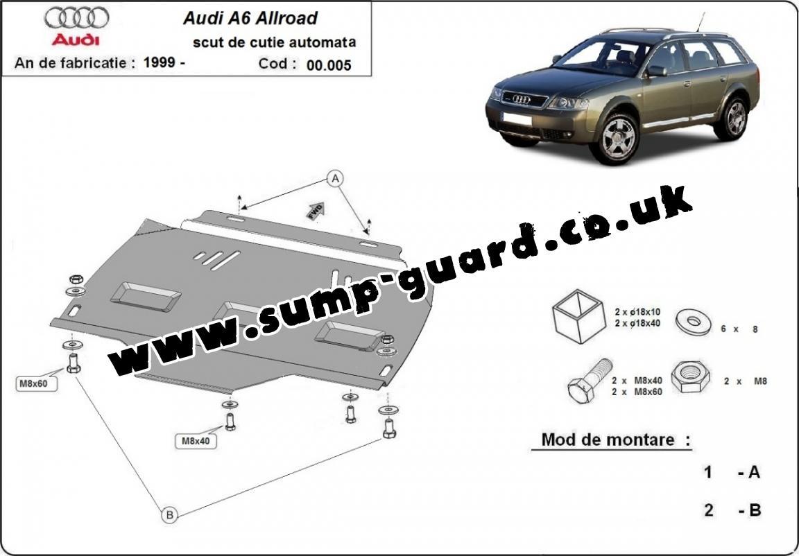 Steel Automatic Gearbox Guard Foraudi Allroad