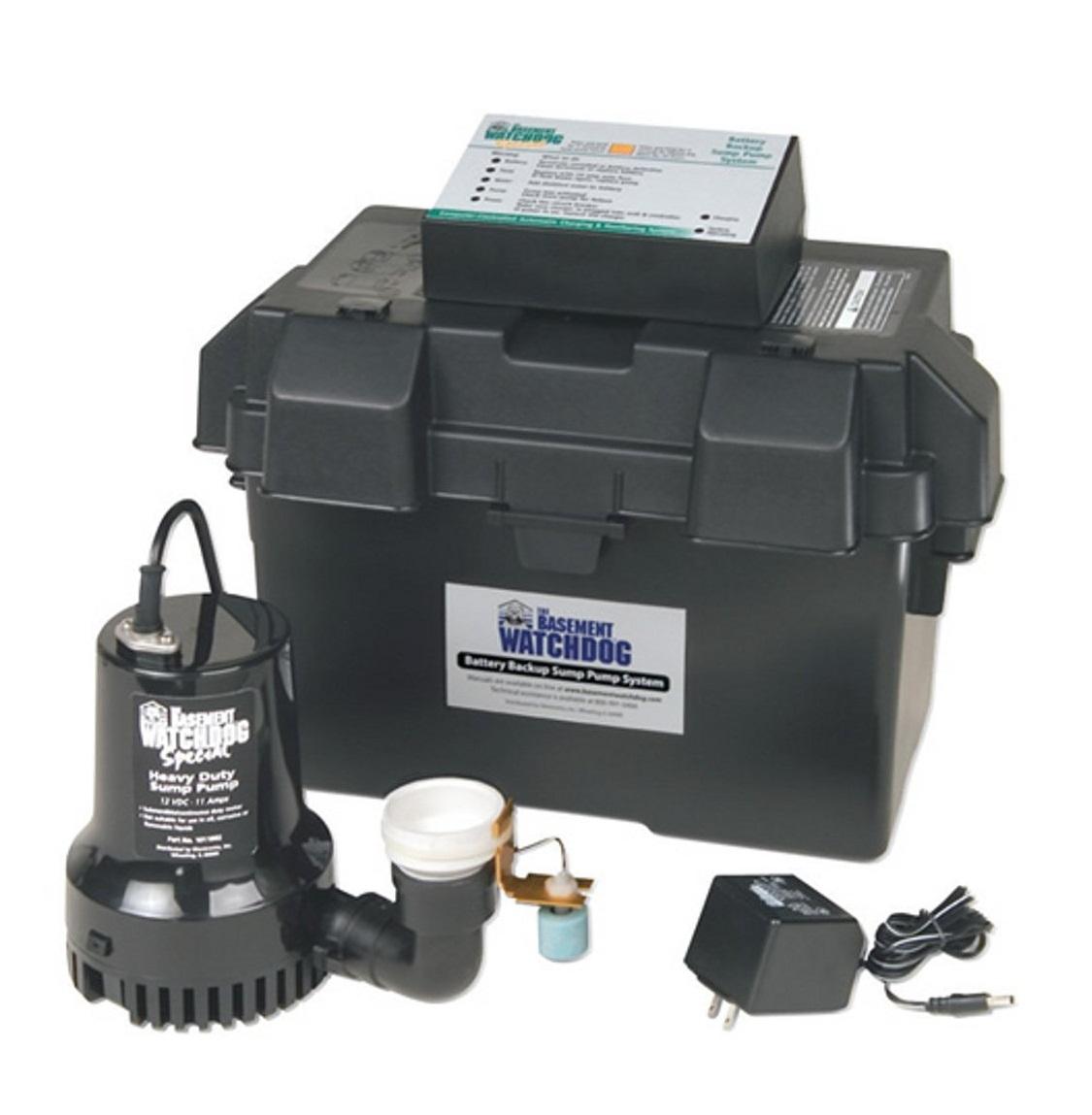 Watchdog Battery Backup Sump Pump Sump Pump Advisor