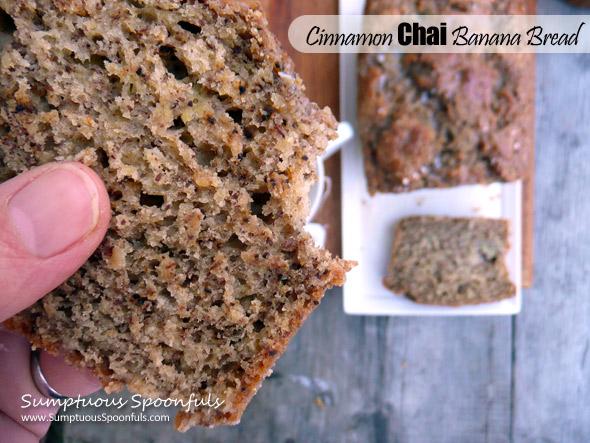 cinnamon chai banana bread recipe