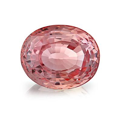 Peach Sapphire Engagement rings