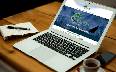 Synergy Biologics Website