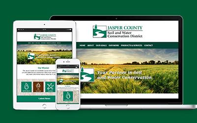 Jasper County Website Design