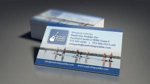Business Card Design for Nashville Paddle