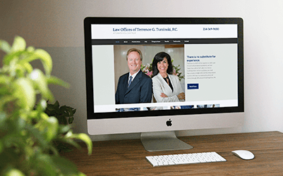 Just Launched: the Law Offices of Terry Turzinski