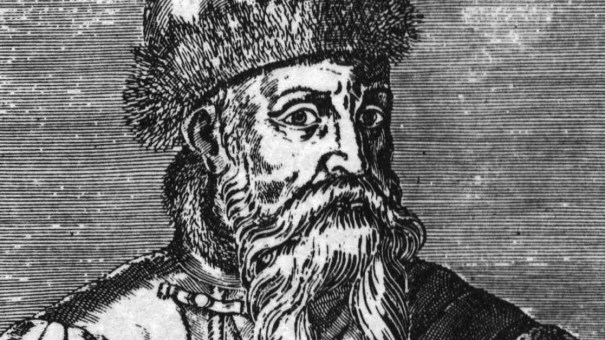 Drawing of Johannes Gutenberg