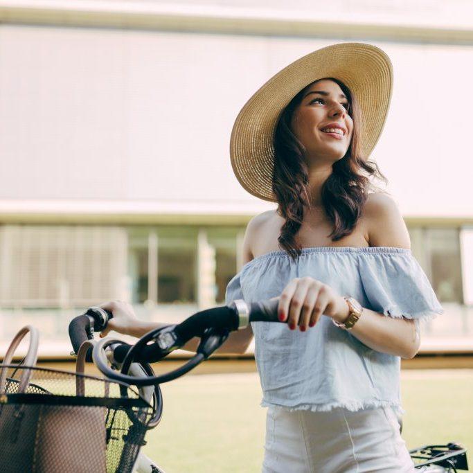 Service hôtél 4 étoiles Cannes centre : location de vélo