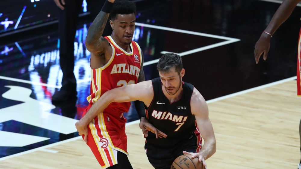 Heat thrive in closing time in absence of Jimmy Butler, down Hawks 109-99  for sixth straight win - South Florida Sun Sentinel - South Florida  Sun-Sentinel