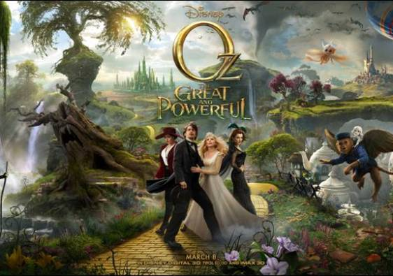 Oz The Great Poster