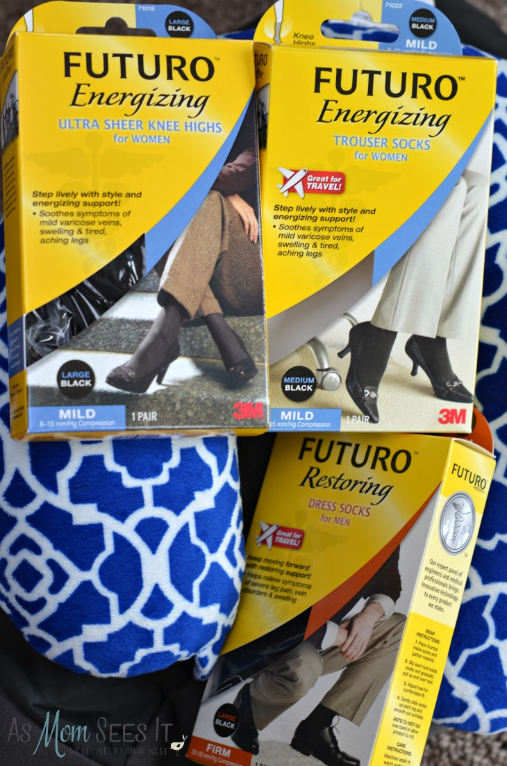 My Unlikely #Travel Companion: FUTURO Energizes For Comfort
