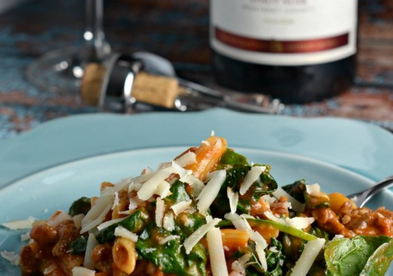 An easy one pot dish is the Tuscan