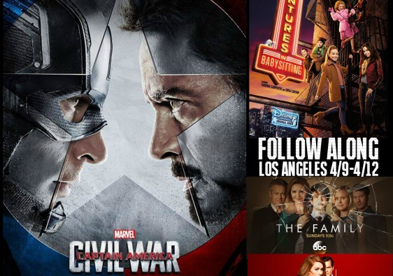 Captain America: Civil War interviews