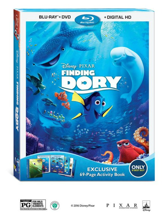 Disney/Pixar's Finding Dory Arrives On Blu-Ray In Time For The Holidays
