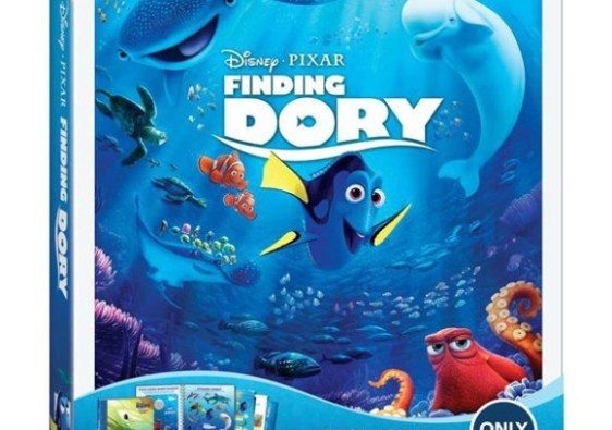 Finding Dory on Blu-Ray today