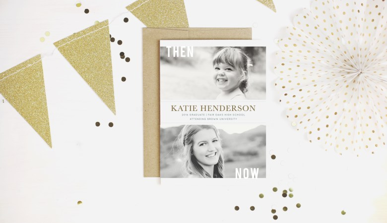 Make your graduation invitations stand out with custom invites from Basic Invites