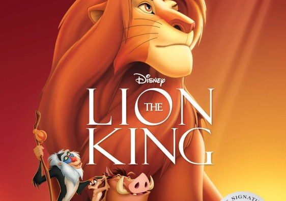 Disney's The Lion King Signature Series Blu-Ray