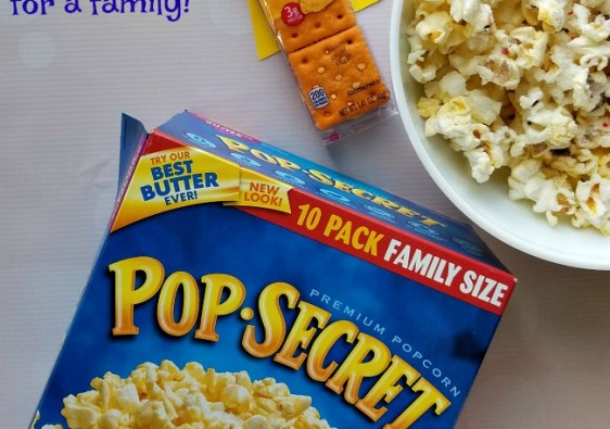 These delicious #Pop4Captain snacks are perfect for watching the new Captain Underpants DVD!