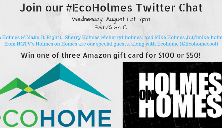 Join our #EcoHolmes Twitter Chat