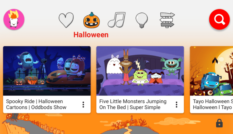 YouTube Kids has added fun Halloween content for the whole family