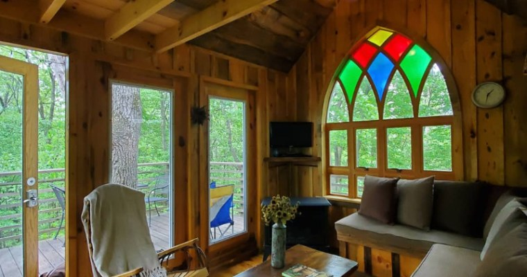 What It's Like To Sleep In A Treehouse Masters' Treehouse