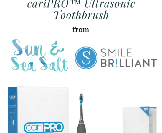Smile Brilliant's cariPRO Ultrasonic Toothbrush giveaway