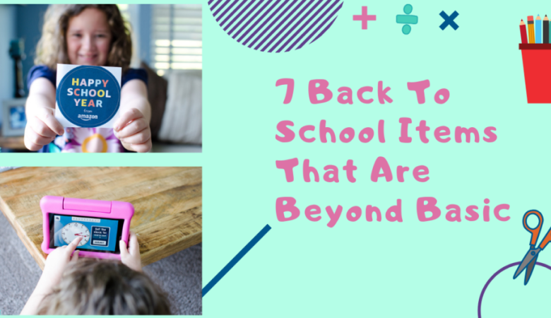 What you should include on your back to school shopping list