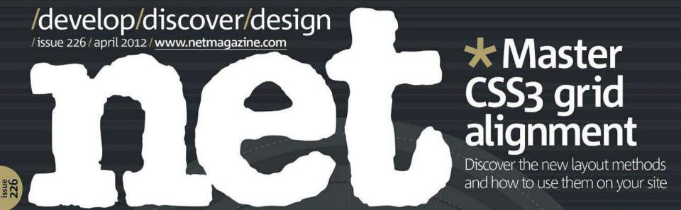 Showcased on .net Magazine