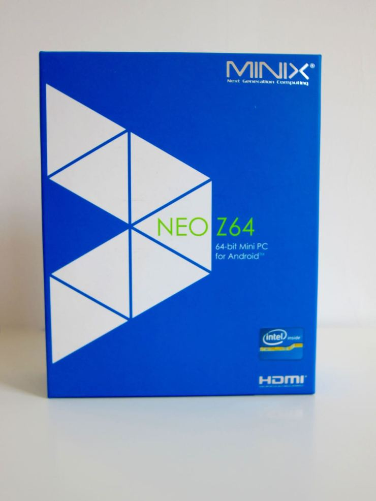 MINIX NEO Z64 Box Front