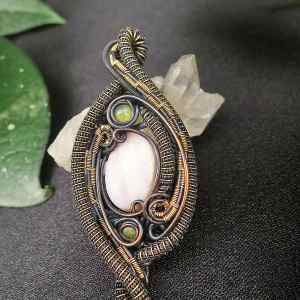 AndeanOpal-Medallion SunayLaLuna Semipreciousstones-jewelry