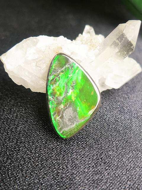 grüner Ammolith-SunayLaLuna