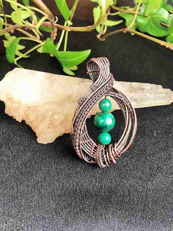 Malachit-Pendant Jewerlrydesign Exclusivejewelry