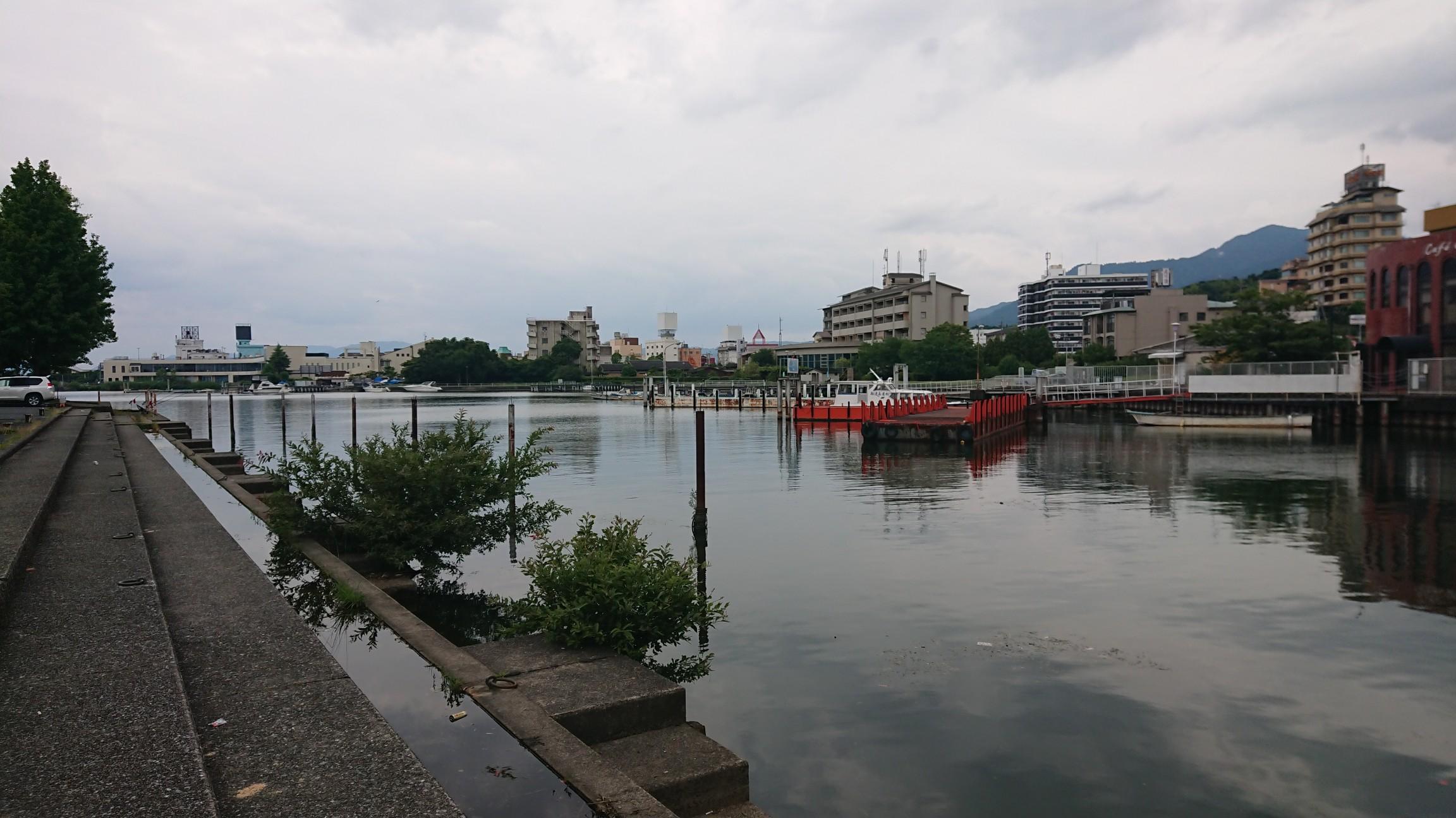 雄琴港バス釣りポイント