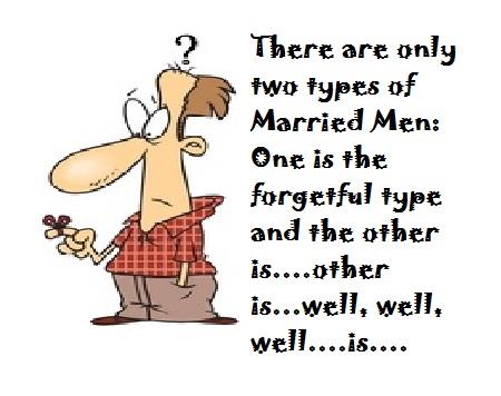 Forgetful man