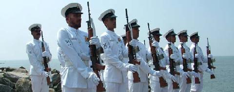 Navy always has the stress on 'Man-behind-the-gun' (Pic courtesy: jhunjhunu.info)