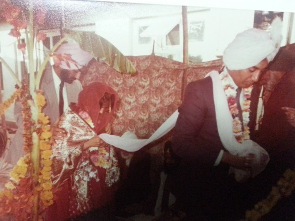 Finally re-married on 12th Dec 1982 in traditional way