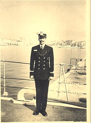 In Split, erstwhile Yugoslavia, my first foreign visit as an officer