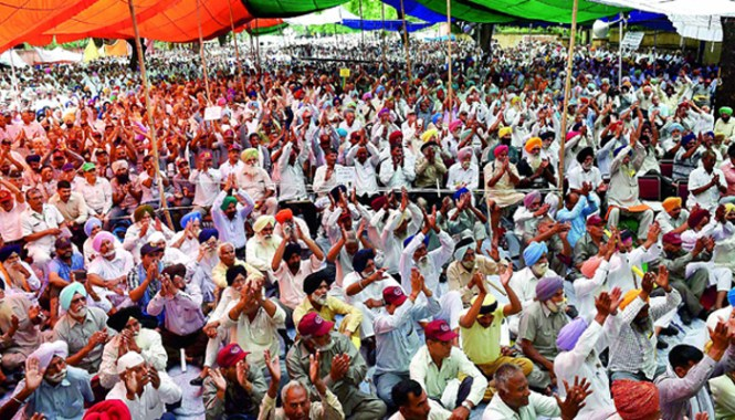 Massive OROP rally at Jantar Mantar on 12 Sep 15 largely ignored by mainstream media on directives from the government
