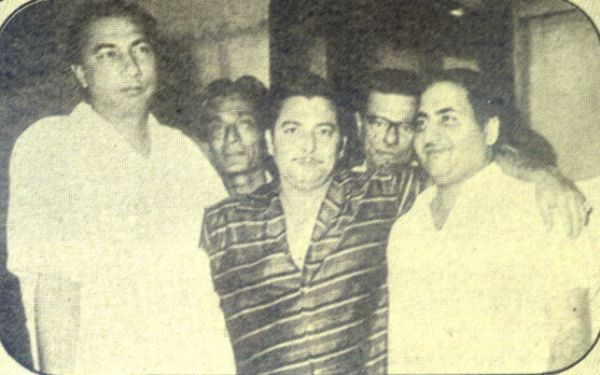 Sahir Ludhianvi, Madan Mohan and Mohammad Rafi, the team that made one of the best ghazals in Hindi movies.