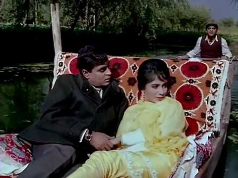 A scene from the 1965 movie Arzoo starring the Mere Mehboob pair Rajendra Kumar and Sadhana
