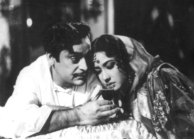 A scene from the 1962 Guru Dutt movie Sahib Bibi Aur Ghulam