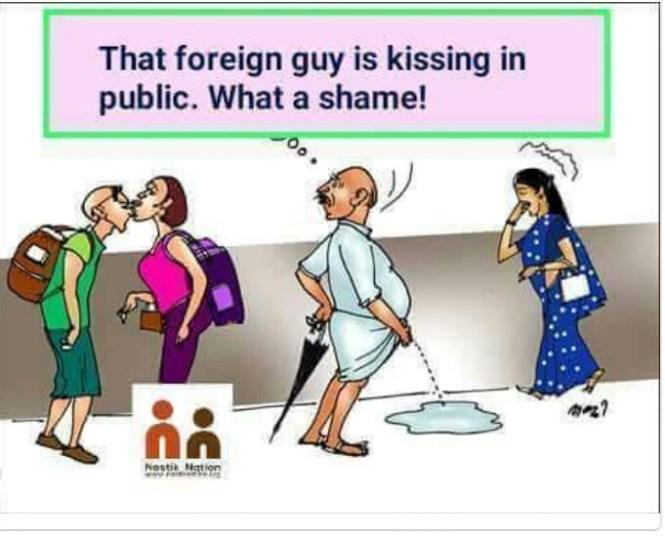 Urinating in Public