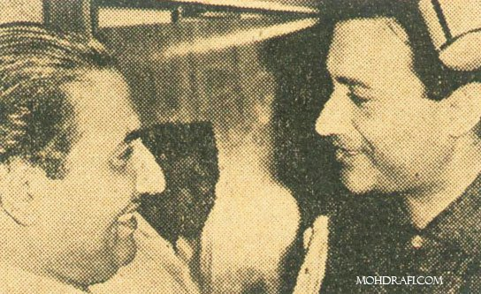 Mohammad Rafi with Dev Anand