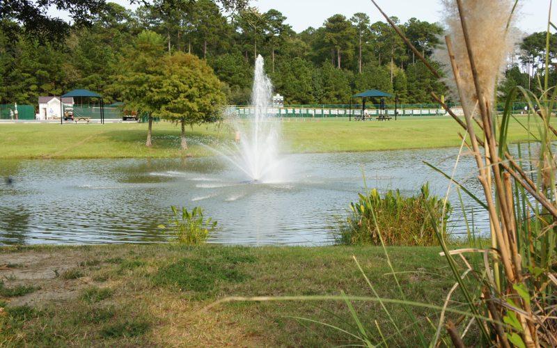 Sports Park Fountain