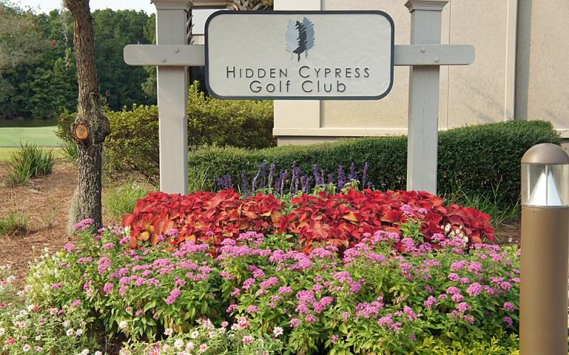 Hidden Cypress Sign