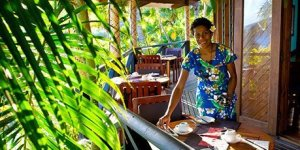Wananavu Sunset Balcony Restaurant