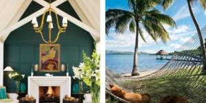 Pacific Time - Huka Lodge in New Zealand and Dolphin Island, Fiji
