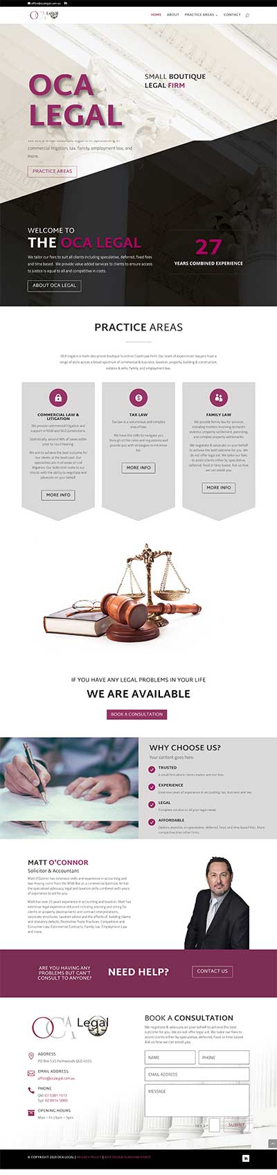 Lawyers Web Design