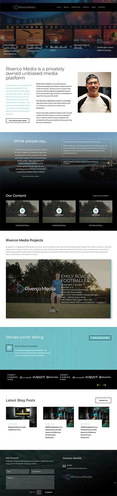Best Media & Video Production websites Sunshine Coast